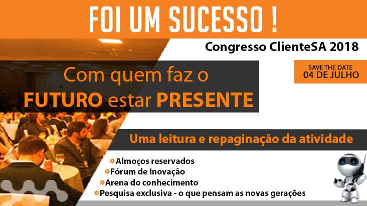 Conference ClienteSA - Congresso ClienteSA 2018